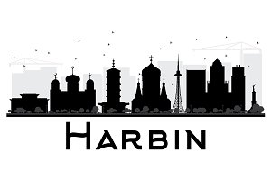 Harbin City skyline