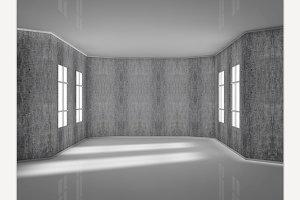 Render modern room