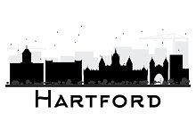 Hartford City skyline