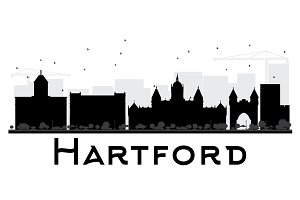 Hartford City skyline