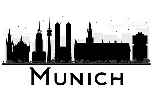 Munich City skyline