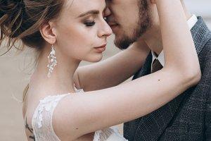 Sea shore wedding