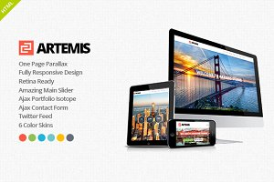 Artemis Responsive One Page Theme