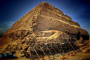 Step Pyramid of Djoser at Saqqara