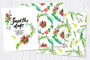 Wedding watercolor floral kit