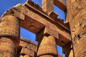 Hypostyle Hall of Karnak (Egypt)