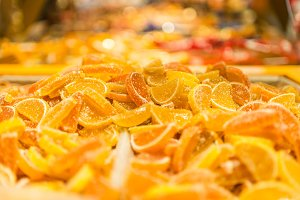 Orange candy marmalade