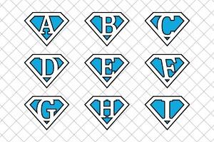 Superman letters v4