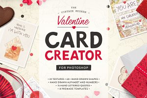 Valentine Card Design Kit (PS)