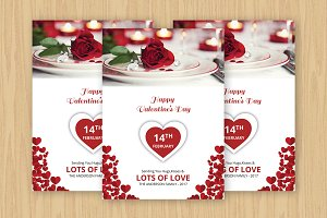 Valentine Day Greeting Card -V477