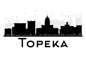 Topeka City skyline
