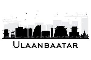 Ulaanbaatar City skyline