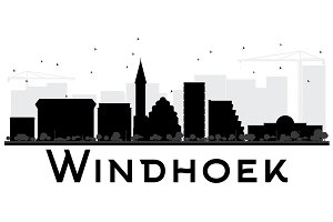 Windhoek City skyline