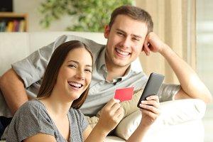 online buyers buying