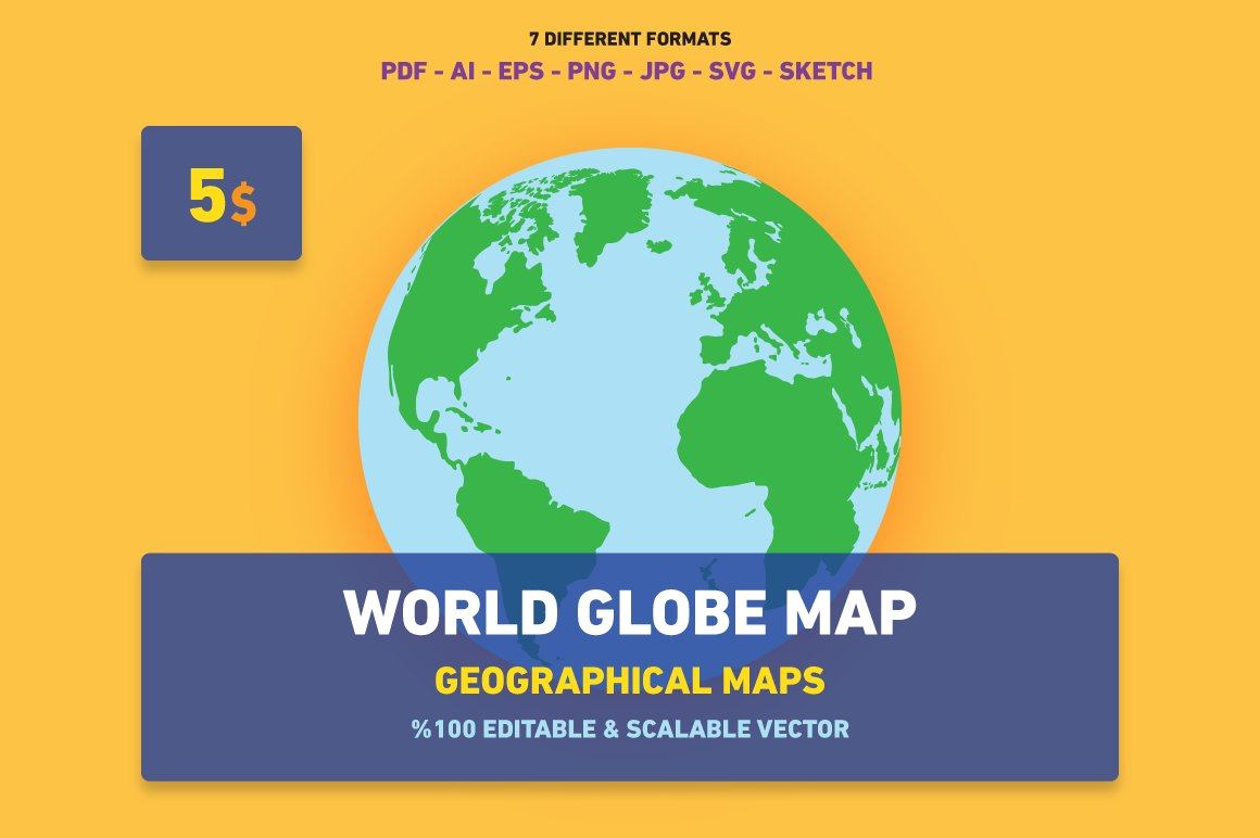 World globe map web elements creative market gumiabroncs Gallery