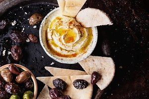 Middle East Meze Hummus