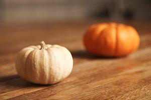 Mixed pumpkins set