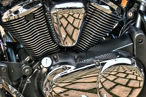 Chrome engine detail