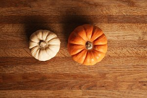 Mixed pumpkins set