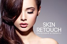 Skin Retouch Photoshop Actions Vol 2