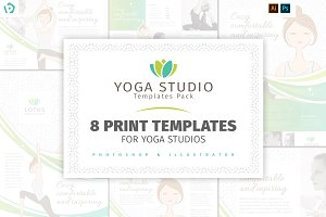 Yoga Studio Templates Pack