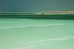 Dead Sea , Israel .