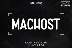 Machost Typeface (AllCaps)