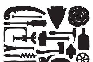Carpenter doodle toolset