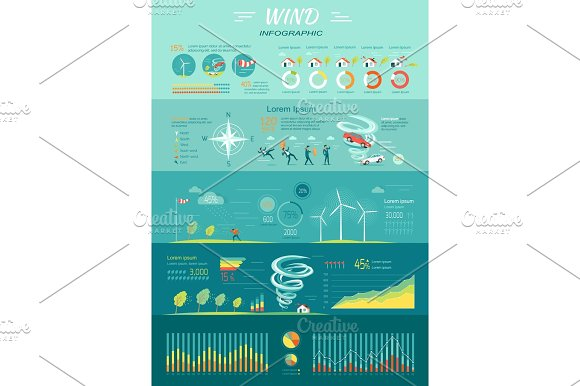 Wind Graphics Tornado Hurricane Renewable Energy