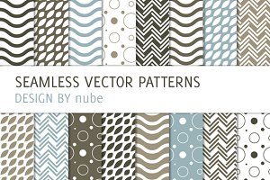 16 Patterns with Waves and Chevron