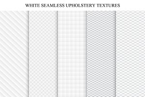 White seamless textures - soft set