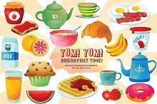 Yum! Yum! Breakfast Time!