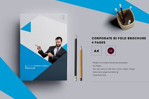 Corporate Bi-fold Brochure - 4 Pages