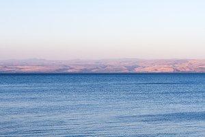Kineret lake, Israel .