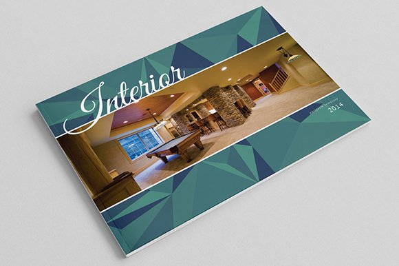 Interior catalog template brochure templates creative - Interior design brochure template free ...