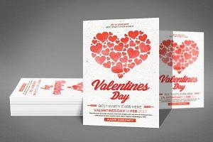 Valentines Flyer Psd