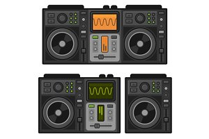 Dj Sound Mixer Set