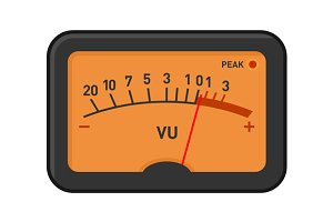 Analog Volume Unit Meter