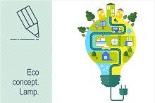 Eco concept Lamp
