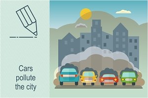 Town cars pollution