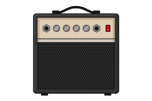 Electric Guitar Amplifier Set