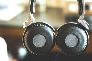 Huge Hanging Headphones