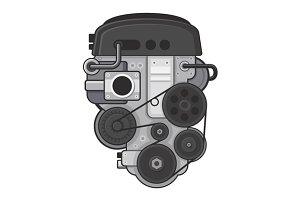 Car Engine Concept