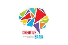 Creative Brain - Human Mind Logo