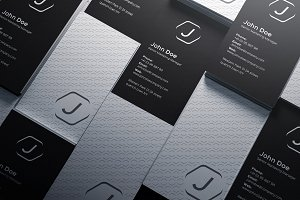 Simple Pattern Business Card v2