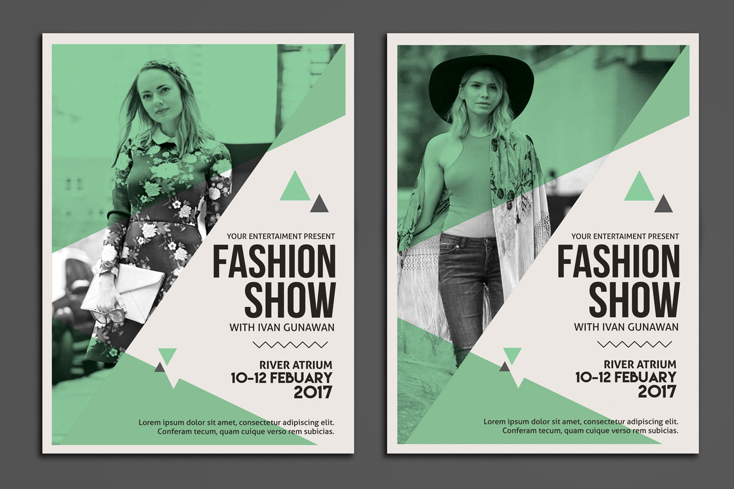 fashion flyers templates for free - fashion show flyer flyer templates creative market