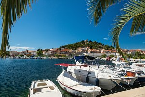 Small beautiful harbor in Croatia