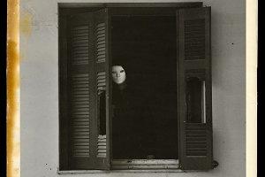 Window Masked Figure