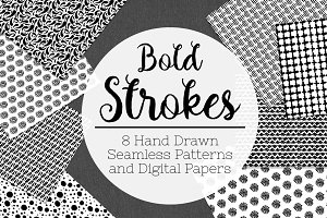 Bold Strokes Seamless Patterns