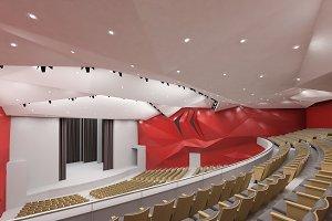 Theater Interior 1200 seats